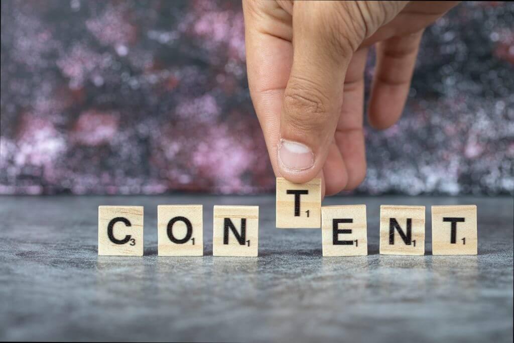 How do you define content